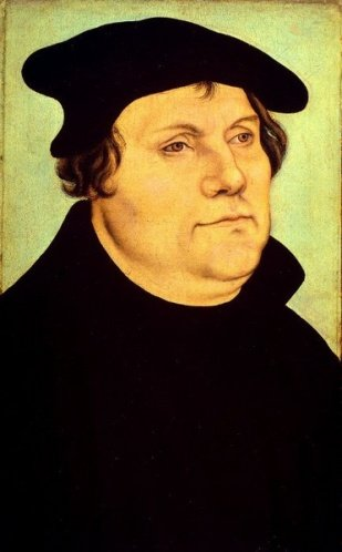 Martin Luther, the apostate Augustinian friar from Erfurt, who in his rebellion lashed out against God, Jesus Christ the Son of God, the Blessed Sacrament, the Virgin Mary, and the Papacy
