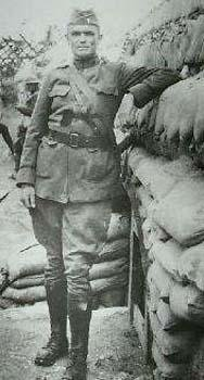 Fr. Francis Duffy in World War I trenches
