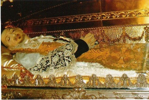 Saint Vincent de Paul Incorrupt Body