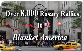 Over 8,000 Rosary Rallies to Blanket America on Oct. 13