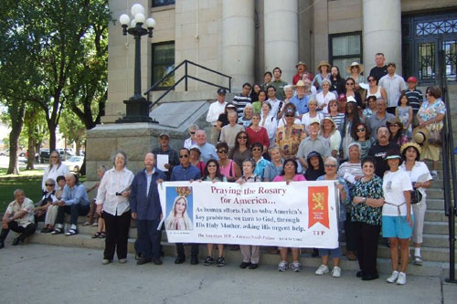 Over 8,000 Rosary Rallies to Blanket America on October 13, 2012