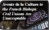 Avenir de la Culture to the French Bishops: Civil Unions Are Unacceptable