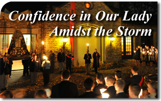 2012 TFP National Conference, Confidence in Our Lady Amidst the Storm
