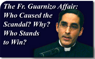 The Homosexual Movement Scores a Win in the Fr. Guarnizo Affair - Who Caused the Scandal and Why?
