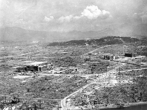 Hiroshima - Aftermath of Atomic Bomb