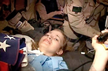 Jessica Lynch rescued from enemy captors in Iraq