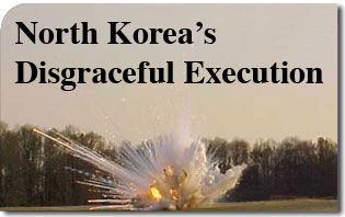 North Korea's Disgraceful Execution