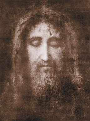 The Holy Face of Our Lord Jesus Christ on the Shroud of Turin