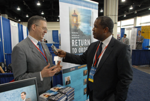 Author John Horvat II gives interview at CPAC
