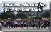Louisiana Marches for Life at 40 Year Mark