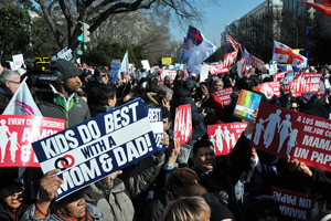March for Marriage, Kids Do Best With a Mom and Dad
