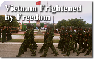 Vietnam Frightened by Freedom