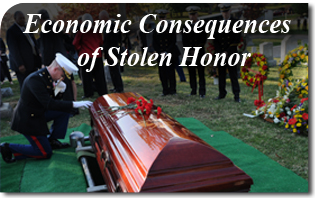 Economic Consequences of Stolen Honor