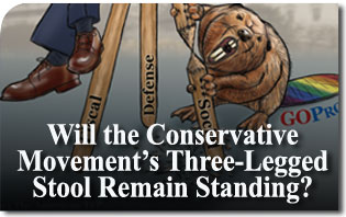 Will the Conservative Movement's Three-Legged Stool Remain Standing? Why GOProud Does Not Belong at CPAC!