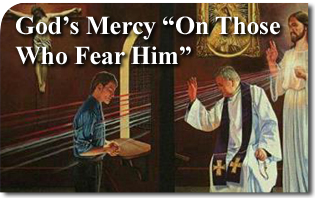 "God's Mercy ""On Those Who Fear Him"""