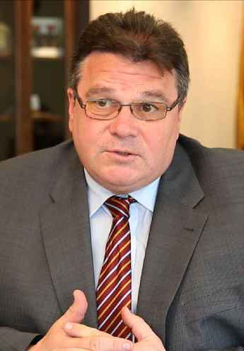 Lithuanian Foreign Minister Linas A. Linkevicius