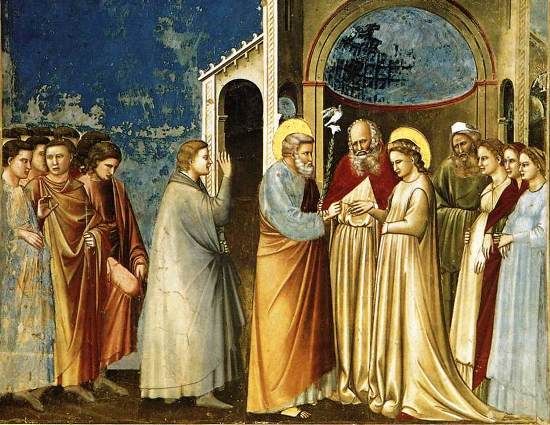 The Marriage of the Blessed Virgin Mary to Saint Joseph, the institution of marriage and  family