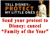 Send your protest to Disney Today!