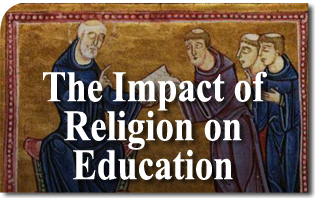 the impact of christian religious education In the early years of what later became the united states, christian religious groups played an influential role in each of the british colonies, and most attempted to enforce strict religious observance through both colony governments and local town rules.