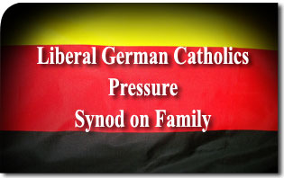 Liberal German Catholics to Pressure Synod on Family German Flag We Are Church