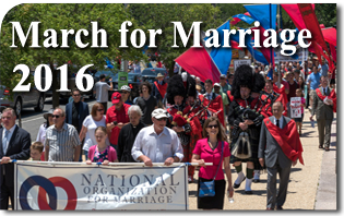 March for Marriage Draws Crowds to Capitol Hill