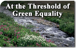 At the Threshold of Green Equality
