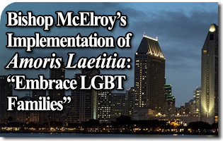 "Bishop McElroy's Implementation of Amoris Laetitia: ""Embrace LGBT Families"""