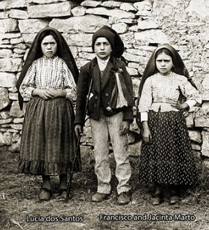 Three Fatima Seers - Lucia dos Santos, Francisco and Jacinta Marto