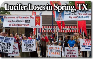 Lucifer Loses in Spring Texas