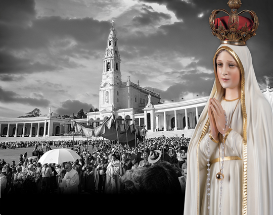 As we prepare for the centennial of Our Lady's coming to Fatima. Let us confidently invoke the Queen of Angels to hasten the events that will lead to the triumph of her Immaculate Heart