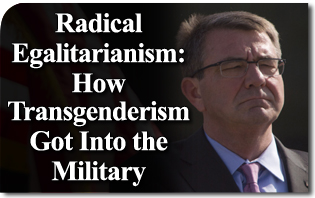 Radical Egalitarianism: How Transgenderism Got Into the Military
