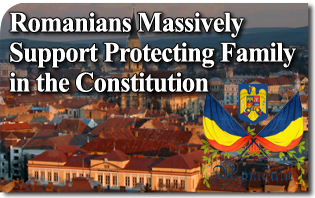 Romanians Massively Support Protecting Family in the Constitution
