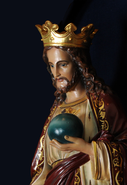 Our Lord exercised aspects of all professions fit for man—from the highest to the lowest. Consider Christ as king. As prince of the house of David and heir to the throne of Israel, Jesus possessed the nobility and grandeur proper to His status