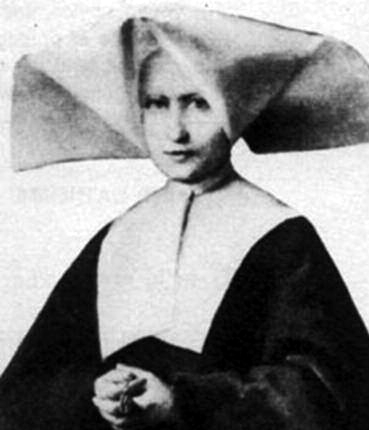Saint Catherine Labouré to whom Our Lady of Graces appeared