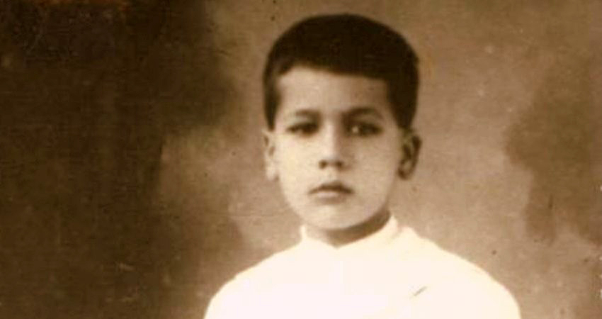 Saint Jose Luis Sanchez del Rio as a young boy