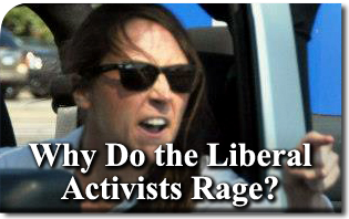 Why Do the Liberal Activists Rage?