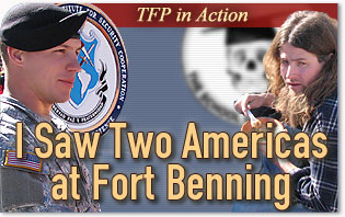 Two Americas At Fort Benning