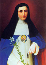 Mother Mariana of Jesus Torres y Berriochoa as a young nun