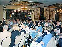 Nearly 90 TFP members, supporters and friends came to hear Father Trigilio.