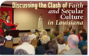 Discussing the Clash of Faith and Secular Culture in Louisiana