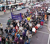 "Thousands marched against same-sex ""marriage"" in Cape Town on September 16."