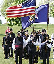 "Enthusiasts like the ""Civil War Troopers"" continue to form fife and drum corps to play traditional military songs."