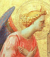 Angel by Fra Angelico