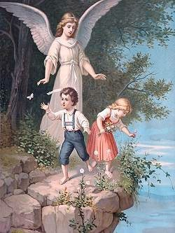 Sentimentality has distorted all depictions of Guardian Angels.