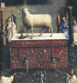 2010_Sacrifice_at_the_altar July: Month of the Most Precious Blood of Our Lord