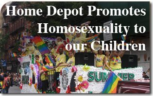 That Home depot homosexual depot thought differently
