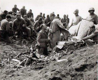 Holy Mass on Iwo Jima, 1945