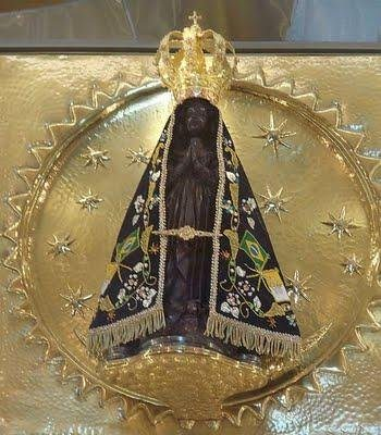 Our Lady of Aparecida, Queen and Patroness of Brazil.