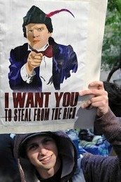"""Class war: """"I want you to steal from the rich."""""""