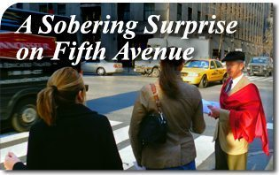 A Sobering Surprise on Fifth Avenue